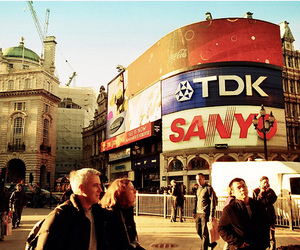 piccadilly circus and london image