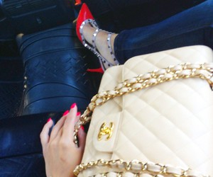 fashion, chanel, and high heels image