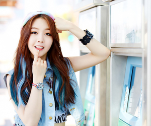 minah, girl's day, and kpop image
