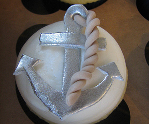 anchor, cupcakes, and desserts image