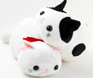 cat, plushie, and cute image