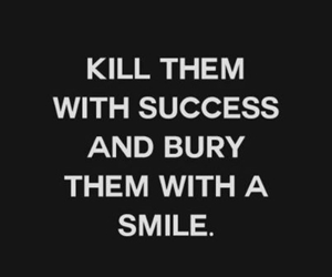 smile, quotes, and success image