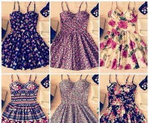 vintage, cute, and dressess image