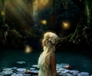 fairytale, fantasy, and nymph image