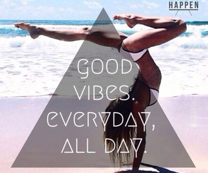 fitness, motivation, and good vibes image