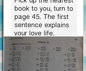 funny, love, and book image