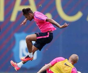 Barca, neymar jr, and Barcelona image