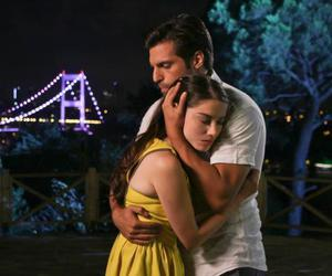 actors, hug, and kiraz mevsimi image