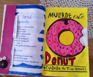 donut, food, and recipe image