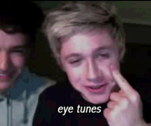 eye, funny, and niam image