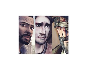 game, kenny, and LUke image