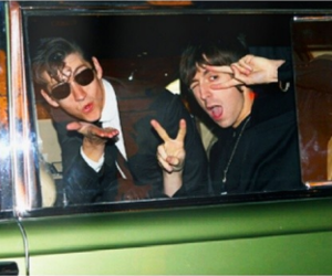 alex turner, last shadow puppets, and miles kane image