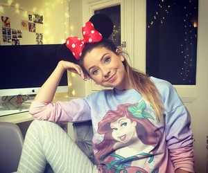 zoella, disney, and fashion image