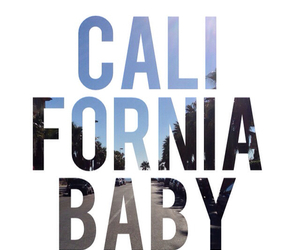 california, baby, and summer image