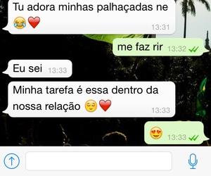 palhaçada, whatsapp, and wapp image