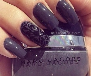 nails, marc jacobs, and beauty image