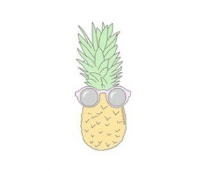 pineapple, overlay, and transparent image