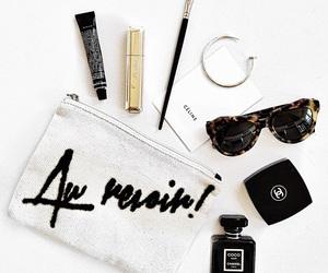 chanel, makeup, and sunglasses image