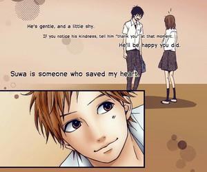 orange, manga, and couple image