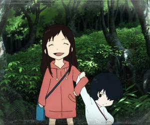 anime, wolf children, and ame and yuki image