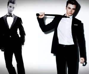 sexy and chris colfer image