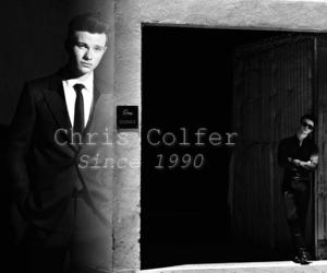amazing, black&white, and glee image