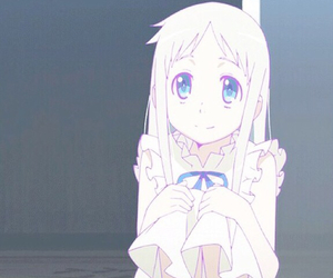 anime, menma, and cute image
