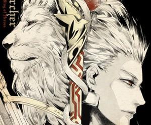 fate zero, anime, and gilgamesh image