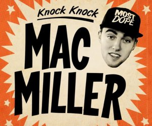 mac miller and knock knock image