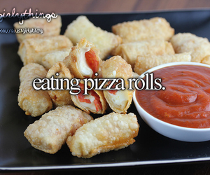 food, girly, and pizza image
