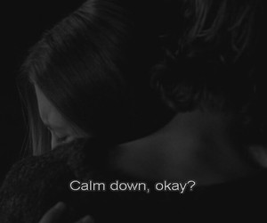 calm, calm down, and girl image