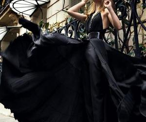 black dress, everything, and glam image