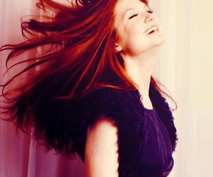 bonnie wright, harry potter, and hair image