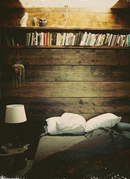 home bed books relax image