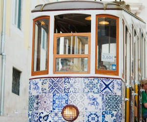 lisbon, blue, and portugal image