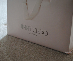 bag, Jimmy Choo, and shopping image