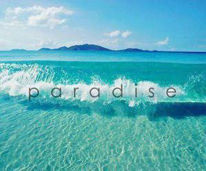 ocean and paradise image