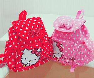 hello kitty, cute, and bag image