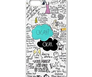 iphone, case, and the fault in our stars image