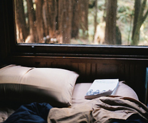 book, bed, and indie image