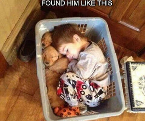 little boy, sweet, and cute image