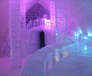 ice, blue, and purple image