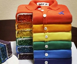 cake, food, and shirt image