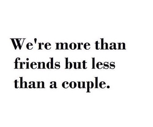 couple, friends, and quotes image