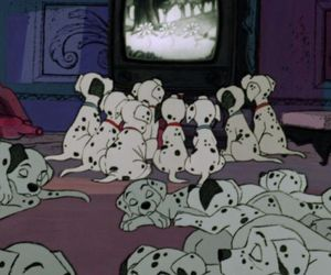 disney, 101 dalmatians, and dogs image