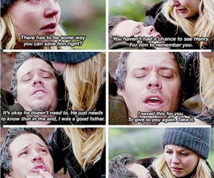 neal cassidy, ouat, and emma swan image