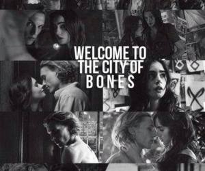 lily collins, jace, and mortal instruments image