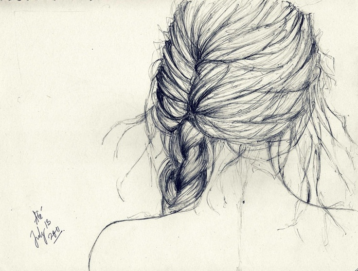 pinterest sketches hair google search on we heart it