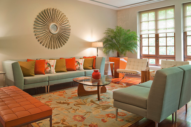 Powerful Living Room Design Interior With Tropical Modern ...