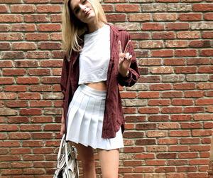 blonde, grunge, and style image